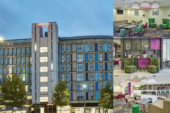 Hampton by Hilton Bristol City Centre photo collage