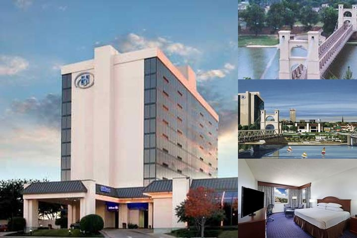 Hilton Waco photo collage