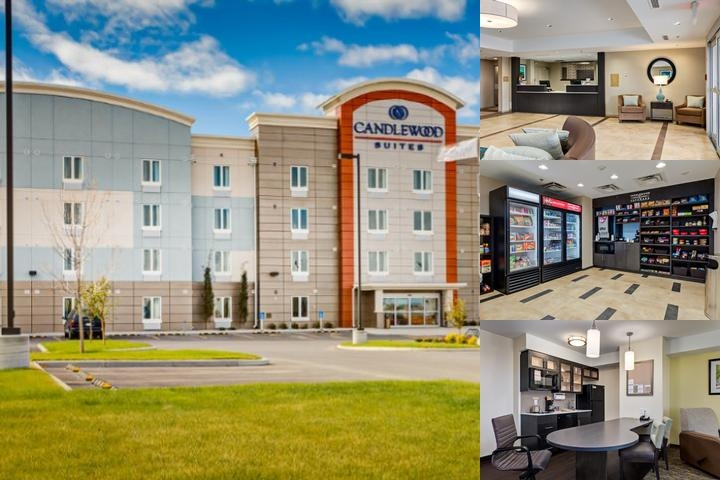 Candlewood Suites Calgary Airport North photo collage