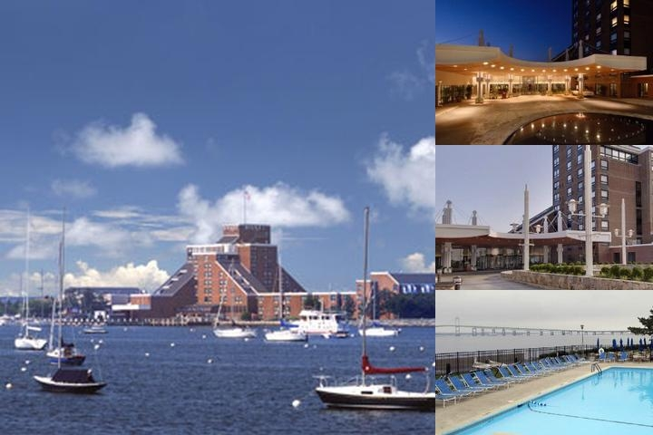 Hyatt Regency Newport photo collage