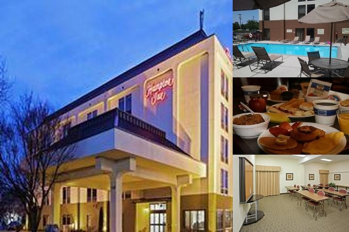 Hampton Inn Knoxville Airport photo collage