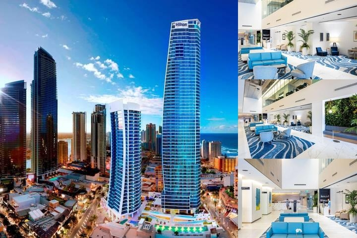 Hilton Surfers Paradise Hotel photo collage