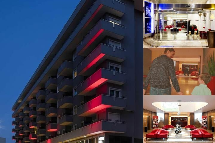 Hotel Ripa Roma photo collage