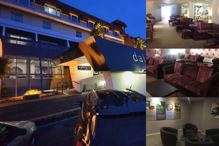 Dalmeny Resort Hotel photo collage