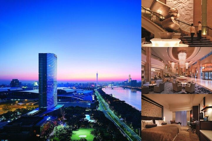Shangri La Hotel Guangzhou photo collage