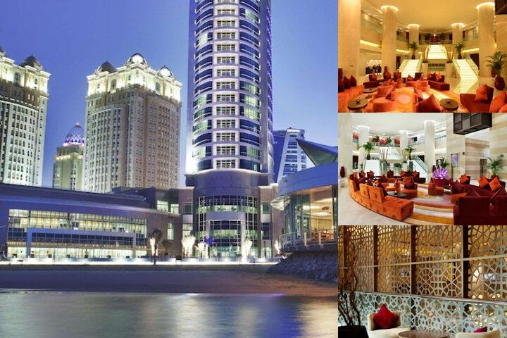 Hilton Doha photo collage