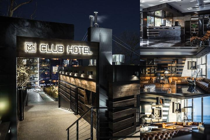 M1 Club Hotel photo collage