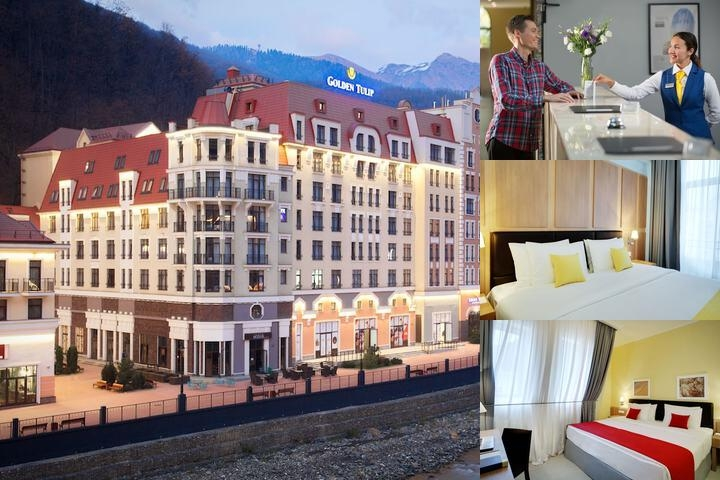 Golden Tulip Rosa Khutor photo collage