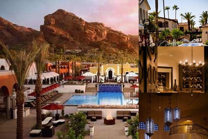 Omni Scottsdale Resort & Spa at Montelucia photo collage