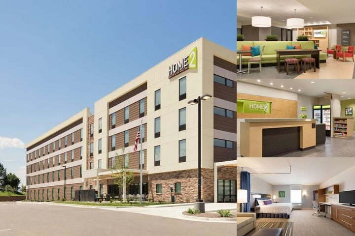 Home2 Suites Denver Highlands Ranch photo collage