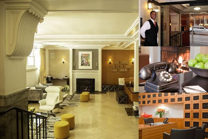 Executive Hotel Vintage Court photo collage