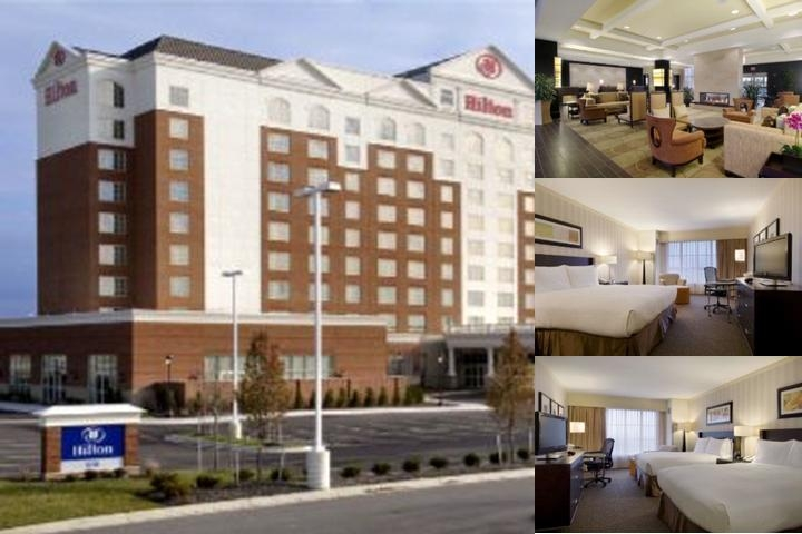 Hilton Columbus Polaris photo collage