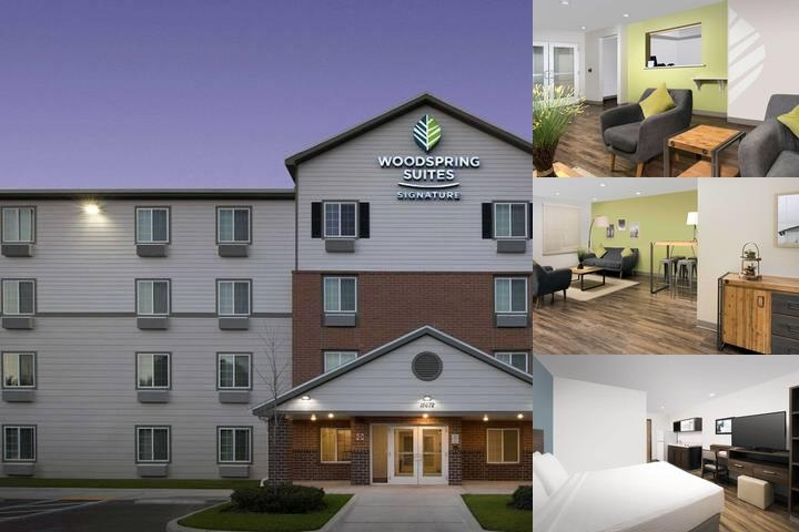 Woodspring Suites Signature Clearwater photo collage