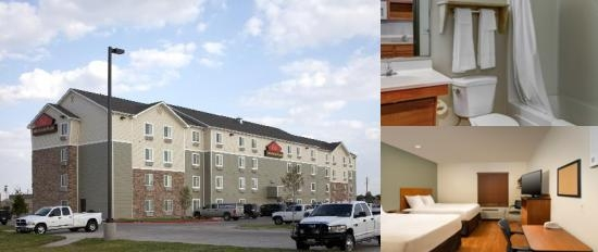 Woodspring Suites Denton photo collage