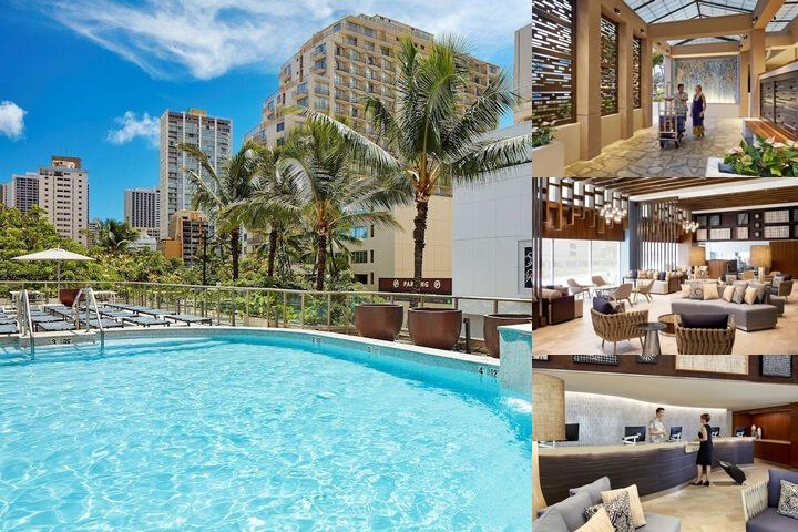 Hilton Garden Inn Waikiki Beach photo collage