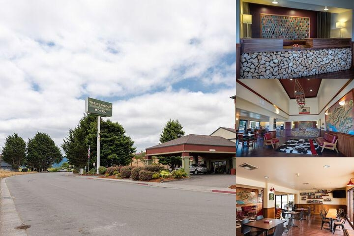 The Redwood Fortuna Riverwalk Hotel photo collage