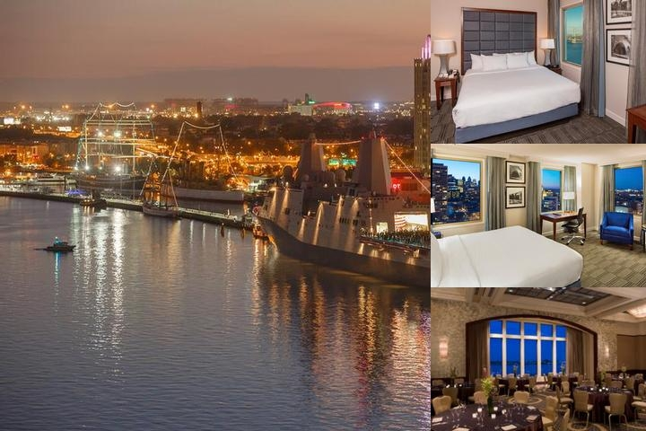 Hilton Philadelphia Penn's Landing photo collage