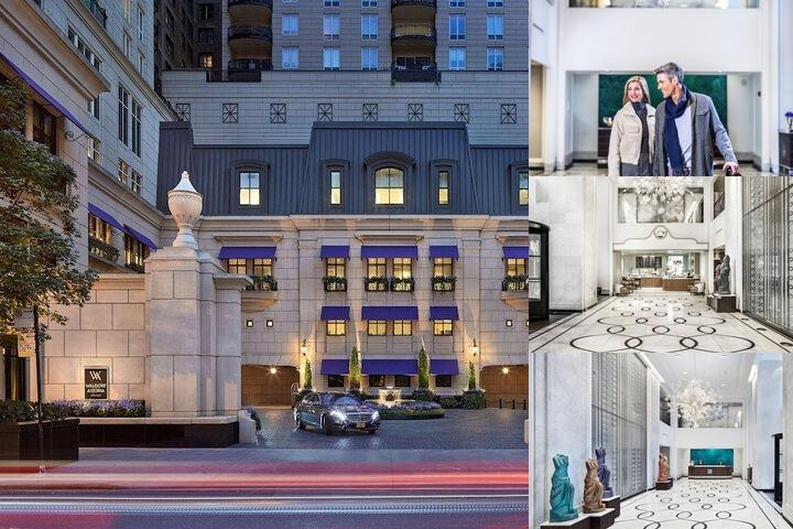 Waldorf Astoria Chicago photo collage
