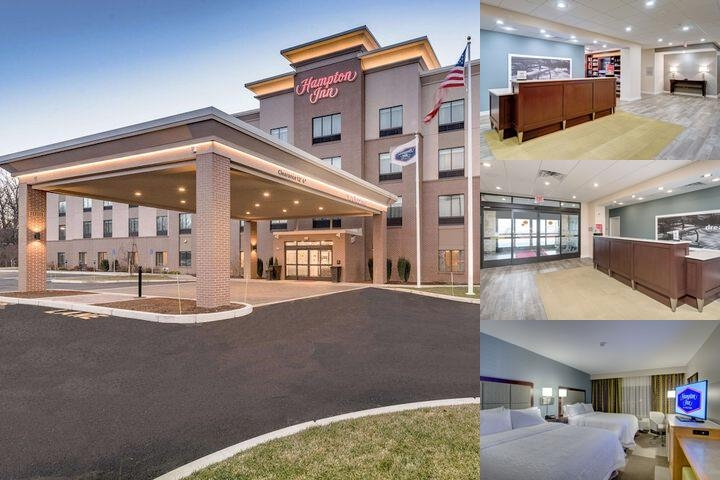 Hampton Inn Boston Westborough photo collage