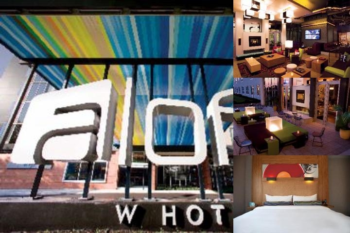 Aloft Hotel Tucson University photo collage