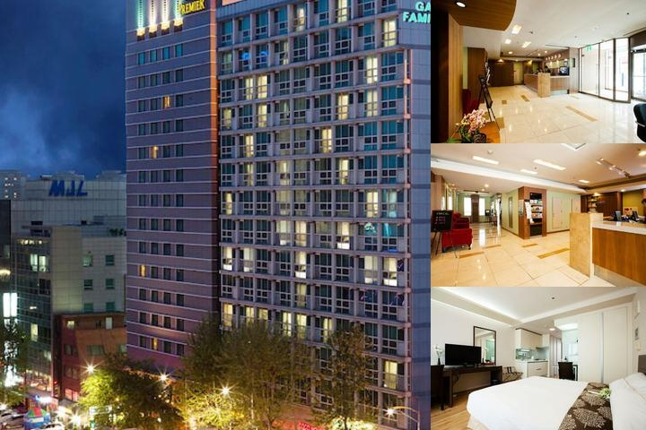 Gangnam Family Hotel photo collage