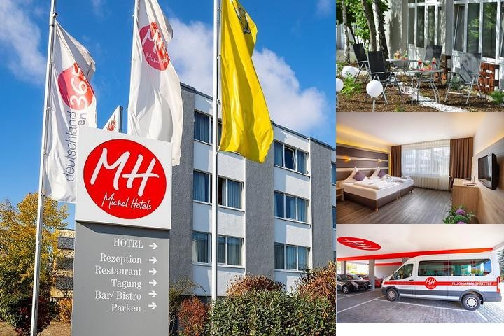 Michel Hotel Rüsselsheim Frankfurt Airport photo collage