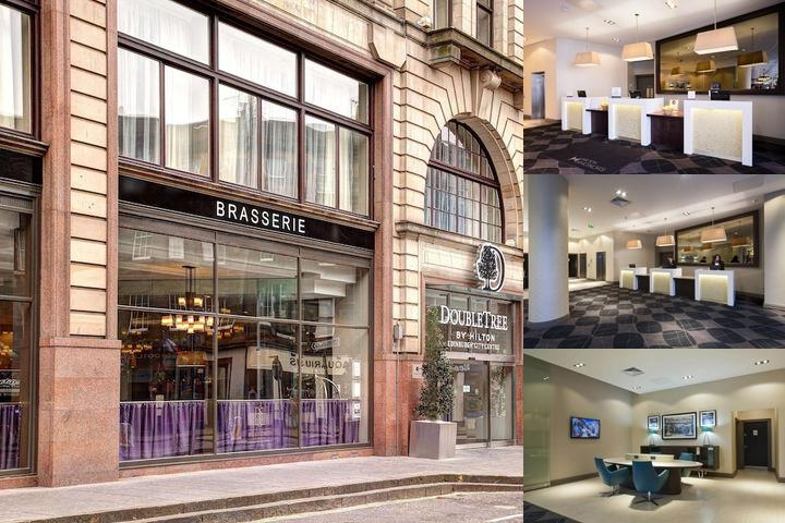 Doubletree by Hilton Hotel Edinburgh City Centre photo collage