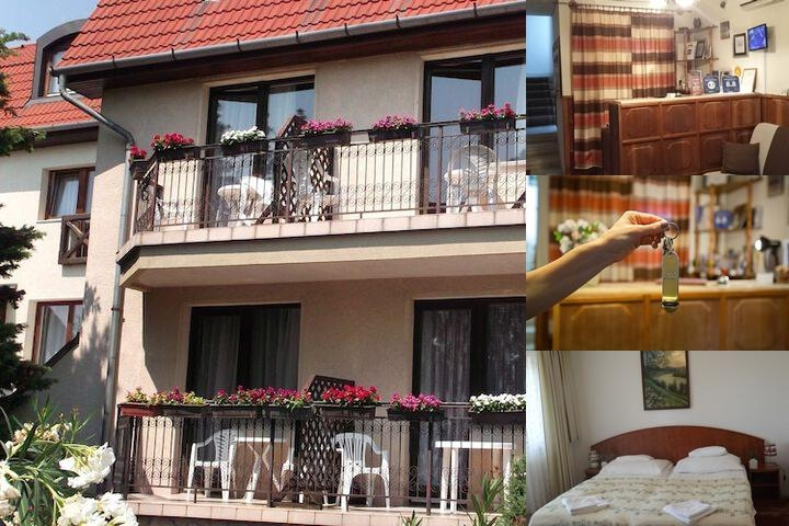 Helios Hotel Pension photo collage