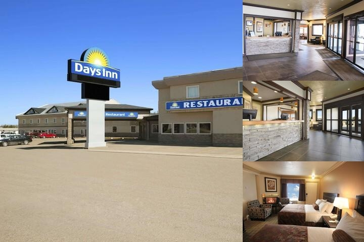 Days Inn High Level photo collage