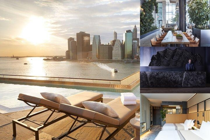 1 Hotel Brooklyn Bridge photo collage