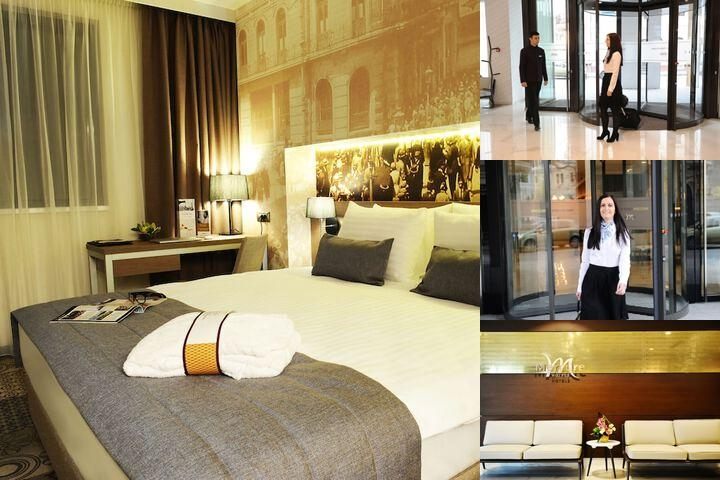 Mercure Bucharest City Center photo collage