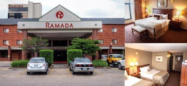 Ramada Convention Center Downtown Topeka photo collage