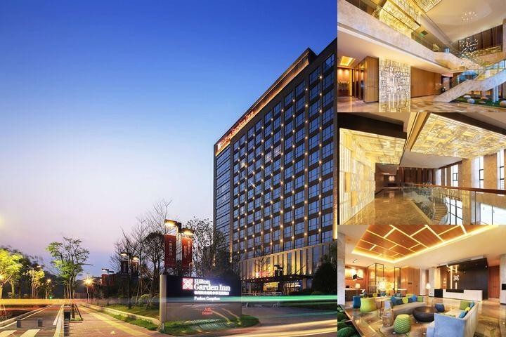 Hilton Garden Inn Fuzhou Cangshan photo collage