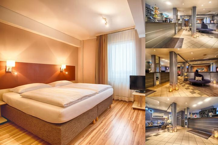 Enjoy Hotel Berlin photo collage
