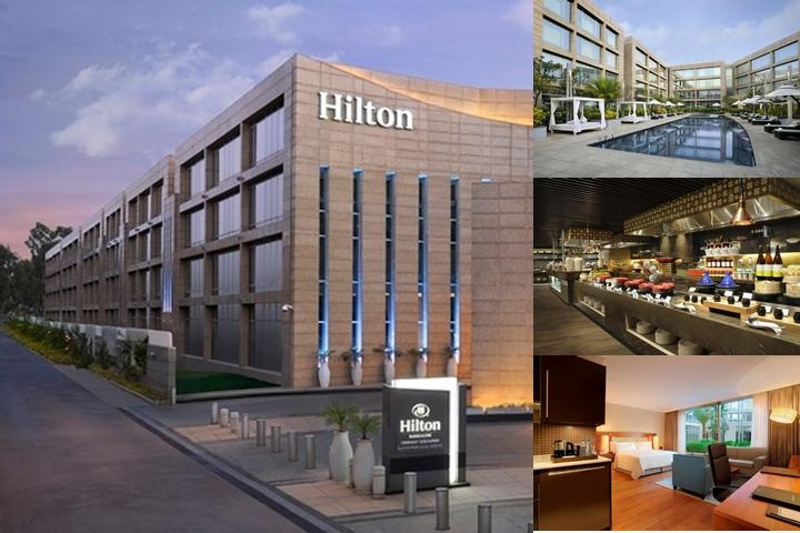 Hilton Bangalore Embassy Golflinks photo collage
