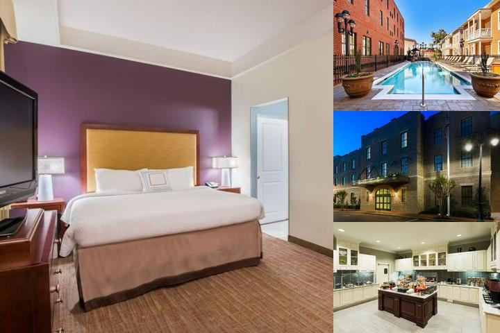 Residence Inn Savannah Downtown / Historic photo collage