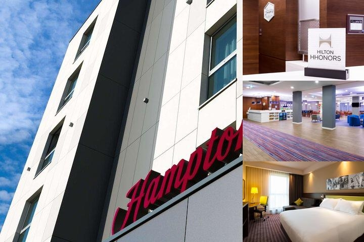 Hampton by Hilton Krakow photo collage