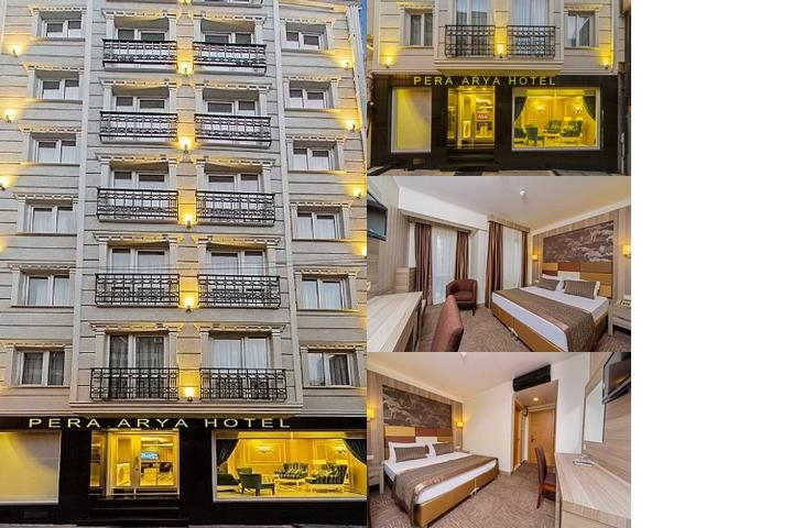 Pera Arya Hotel photo collage