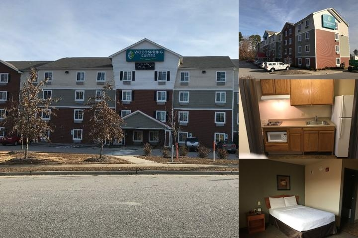 Woodspring Suites Raleigh / Wakeforest photo collage