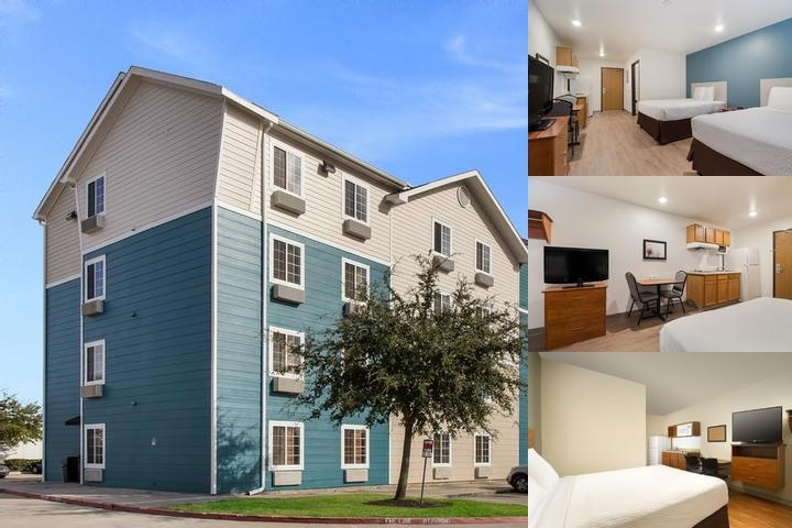 Woodspring Suites Westchase photo collage
