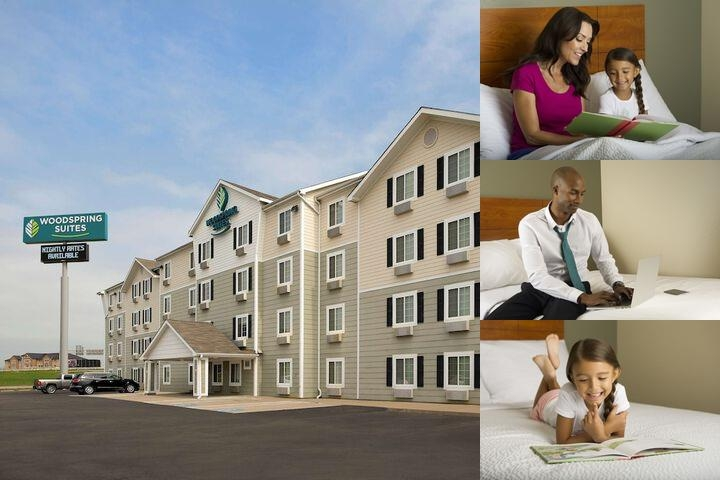Woodspring Suites Waco photo collage