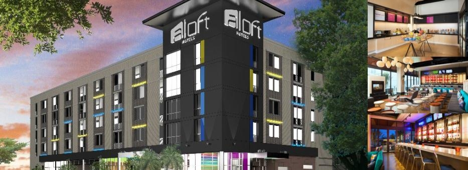 Aloft Columbia Downtown photo collage