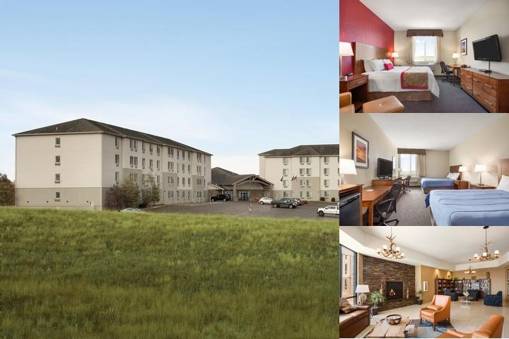 Ramada Williston Hotel photo collage