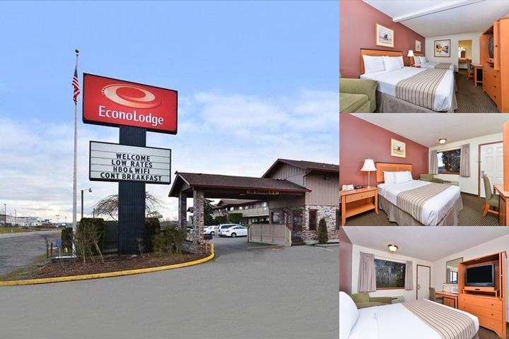 Econo Lodge Chehalis Centralia photo collage