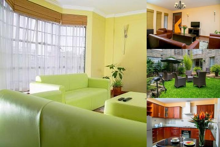 Batians Peak Serviced Apartments photo collage