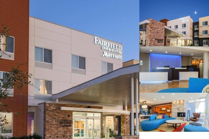 Fairfield Inn & Suites by Marriott Pleasanton photo collage