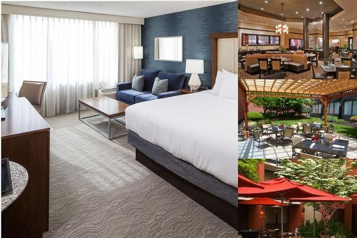 Doubletree by Hilton Hotel Boston Andover photo collage