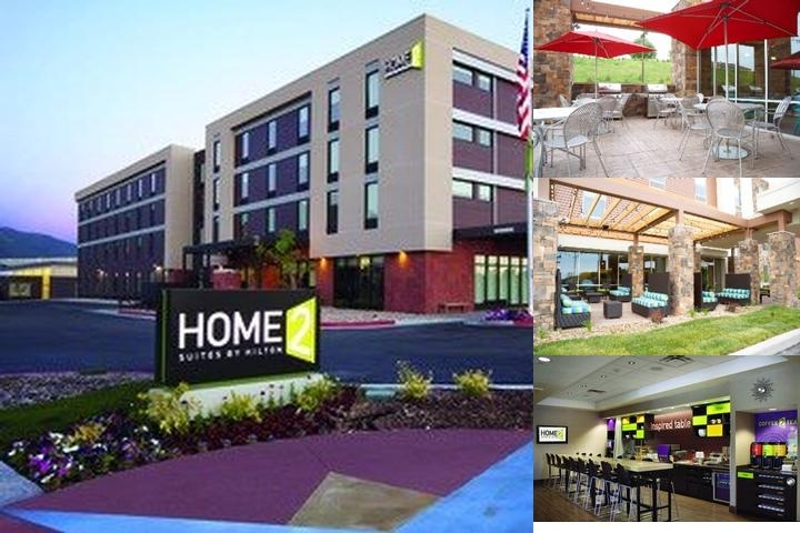 Home2 Suites by Hilton South Jordan photo collage