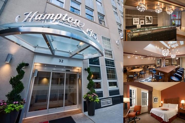Hampton Inn Manhattan Financial District photo collage