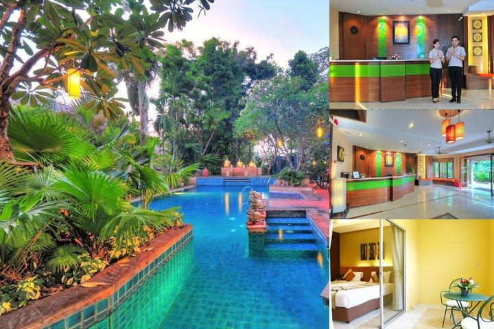 Citin Garden Resort Pattaya by Compass Hospitality photo collage